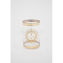 Vaso cristal de bohemia transparente