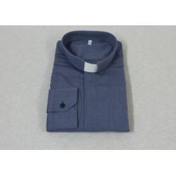 Camisa cuello clergyman