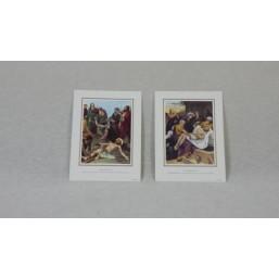 Láminas Via-Crucis 15 estaciones