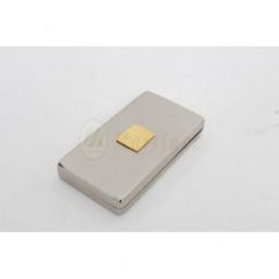 Caja llaves de sagrario con baño de plata