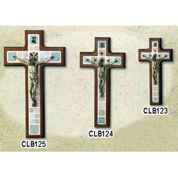 Cruz de madera de colgar