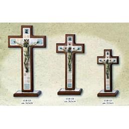Cruz de madera de mesa