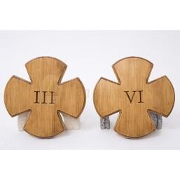 Juego Vía-Crucis Gótico 15 estaciones