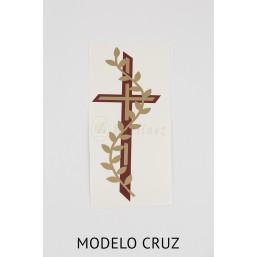 Cirio pascual de cera (10 x100cm).