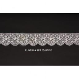Puntilla Art.65 beige