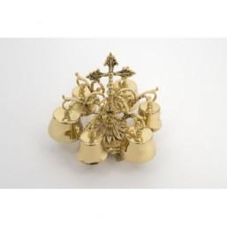 Carrillón bronce dorado 6 campanas