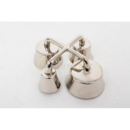 Carrillón bronce niquelado 4 campanas