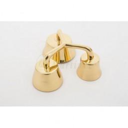 Carrillón bronce dorado 3 campanas