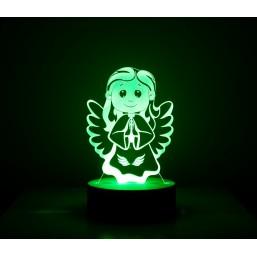 Lámpara Ángel de la Guarda Transparente