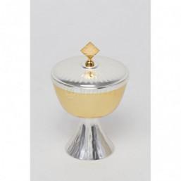 Copón  baño oro y plata