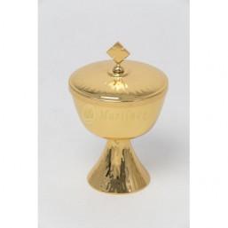 Copón baño de oro