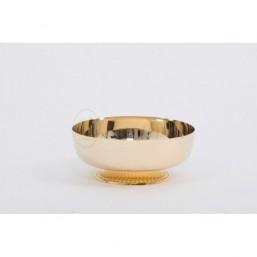 Copón-patena con base  Metal dorado
