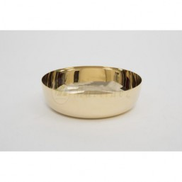 Copón-patena sin base  Metal dorado