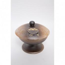 Copón cerámica