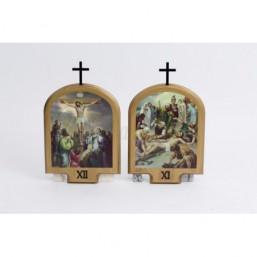 Juego Vía-Crucis 15 estaciones