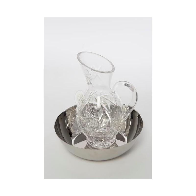 Lavamanos de cristal lavabo sobre encimera de cristal for Lavamanos cristal
