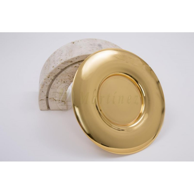 de131559f22 Patena de cáliz con baño de oro