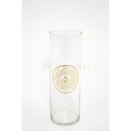 Vaso cristal transparente 8 días